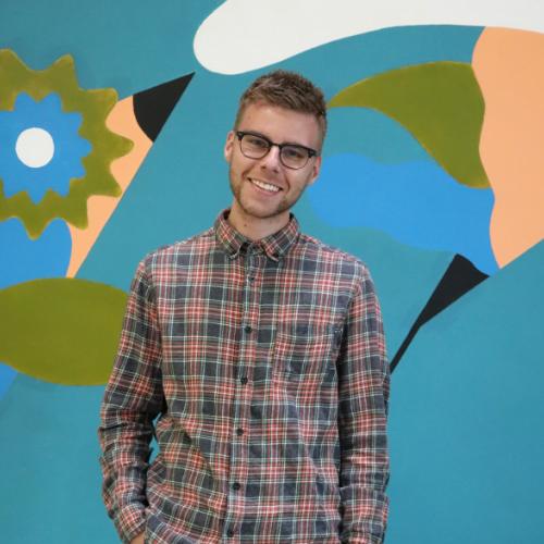customer support en design medewerker Kenneth